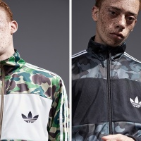 BAPE x Adidas Originals lookbook.