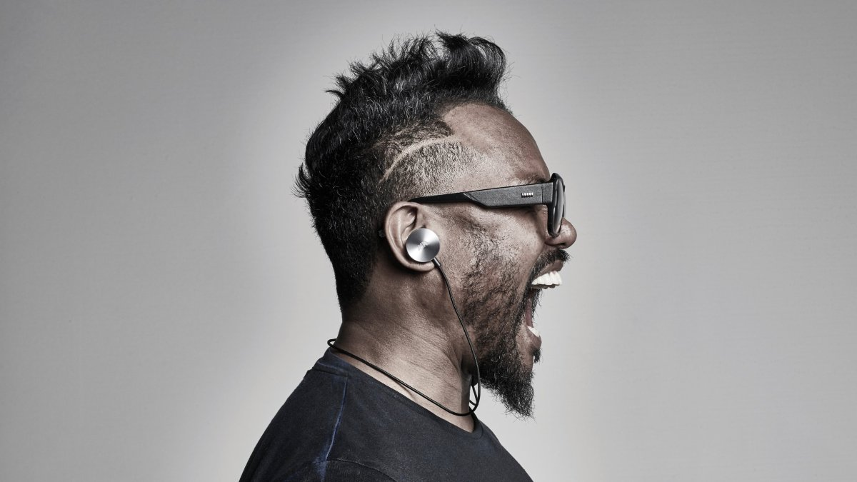 Os fones do Will.i.am.