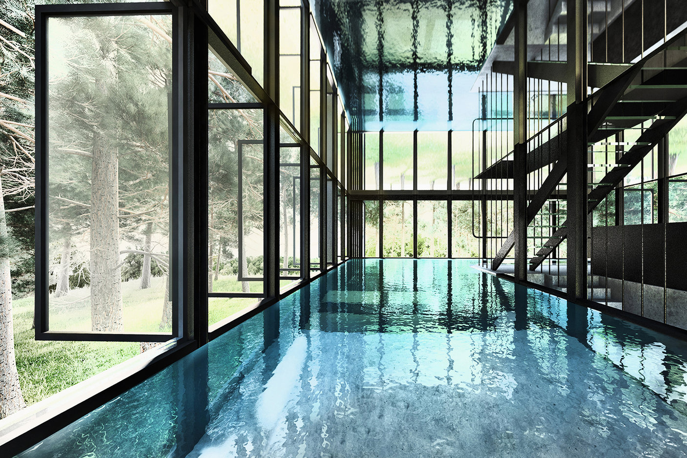 laav-architects-villa-clessidra-concept-is-divided-by-a-swimming-pool-9