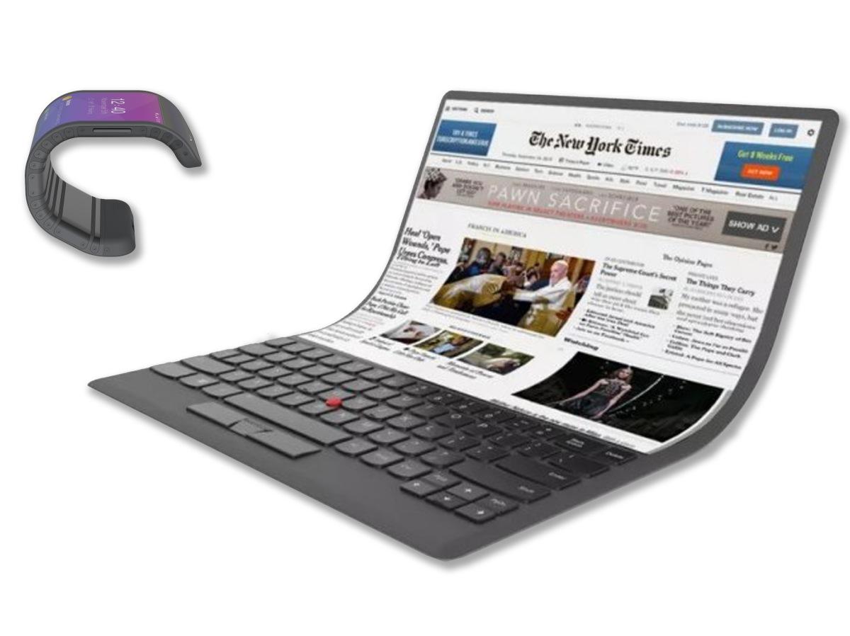 Conheça o computador e o celular dobrável da Lenovo