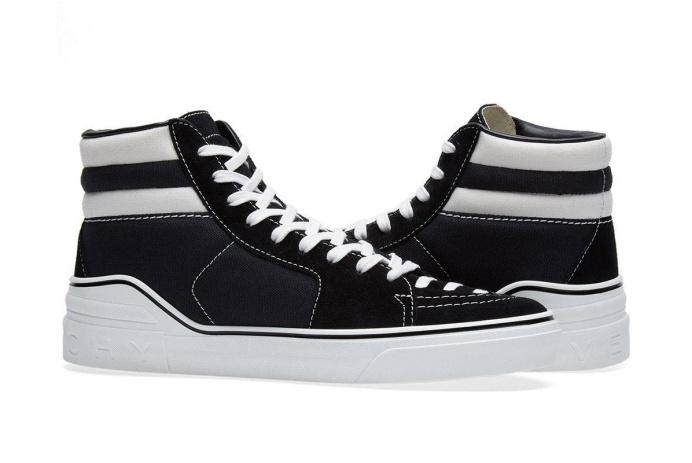 babd514cdc8 O tênis da Givenchy inspirado no Vans Sk8 High