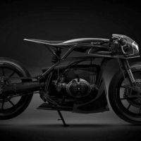 """A BMW R80 """"Black Mamba"""" feito pela Barbara Custom"""