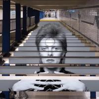Metrô de NY presta homenagem ao David Bowie