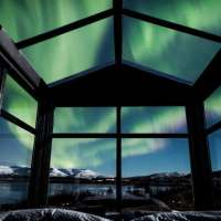 O lugar perfeito para ver a aurora boreal na Islândia