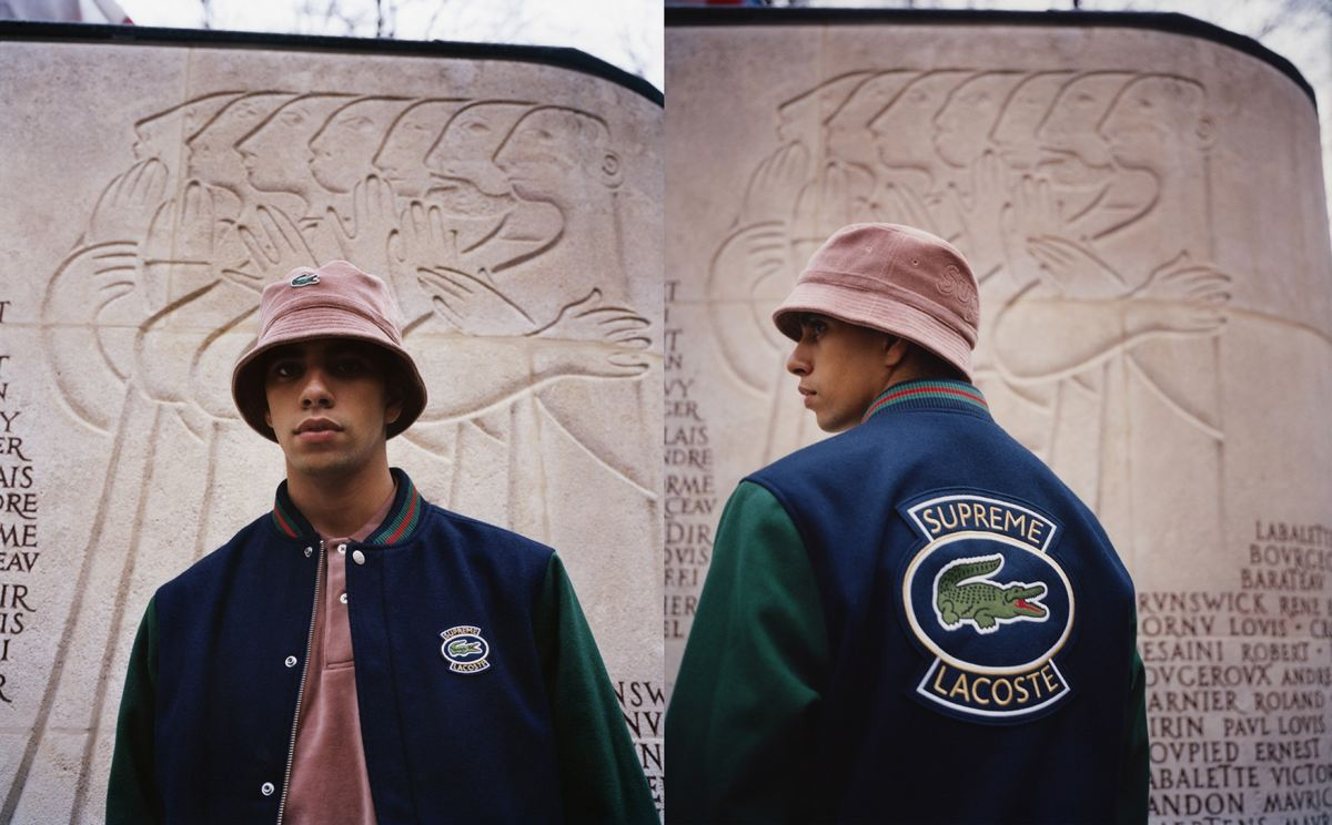 Supreme x Lacoste Spring 2018 lookbook